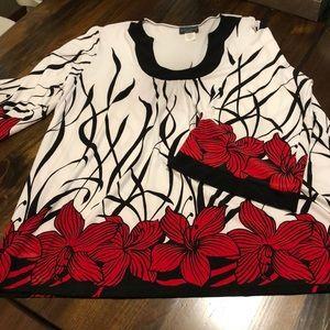 Women's 3/4 blouse